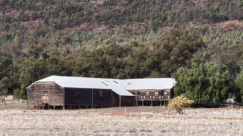 Naradhan Woolshed, NW of West Wyalong, NSW
