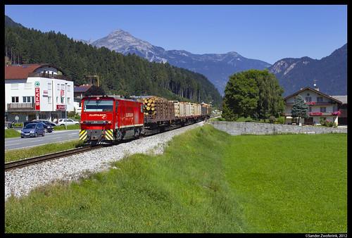 Zillertalbahn D14, Fügen, 20-08-2012