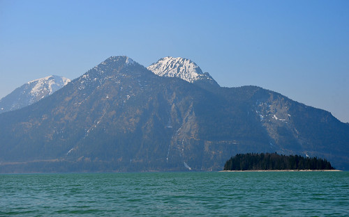 Jachenau - View across the Walchensee