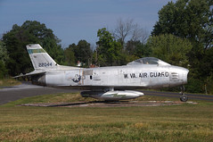 F86H 22044 W VA Air Guard