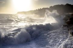 Tempête, la Presqu'île, Cassis