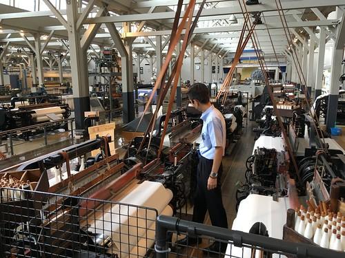 豊田式汽力織機 Toyoda Power Loom
