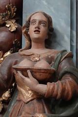 Saint Agatha of Sicily @ Eglise Saint-François de Sales @ Old town @ Annecy