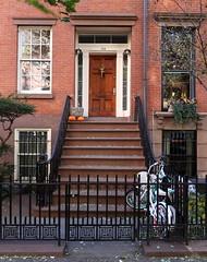 Easy parking: 134 West 13th Street (1899), Greenwich Village, New York