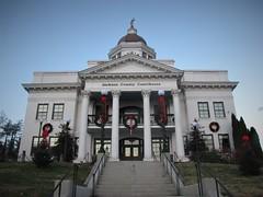 Jackson County Courthouse at Christmas
