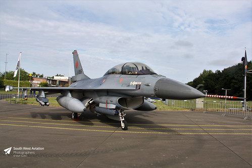 Lockheed Martin F-16BM Fighting Falcon