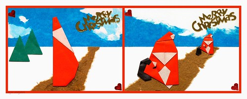 Origami Santa Claus (Francesco Miglionico)