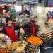 Food madness at Gwangjang market