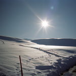 Portra Snow Dunes  (Nikon 35Ti / Portra 400)