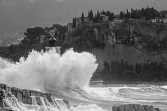 la force d'une vague