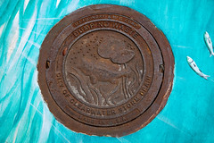 City of Clearwater Storm Drain Manhole Lid