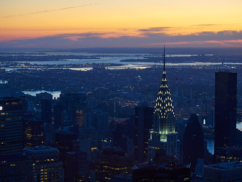 Sunrise from the Empire State Building