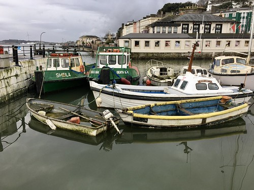 Boats in Cobh.