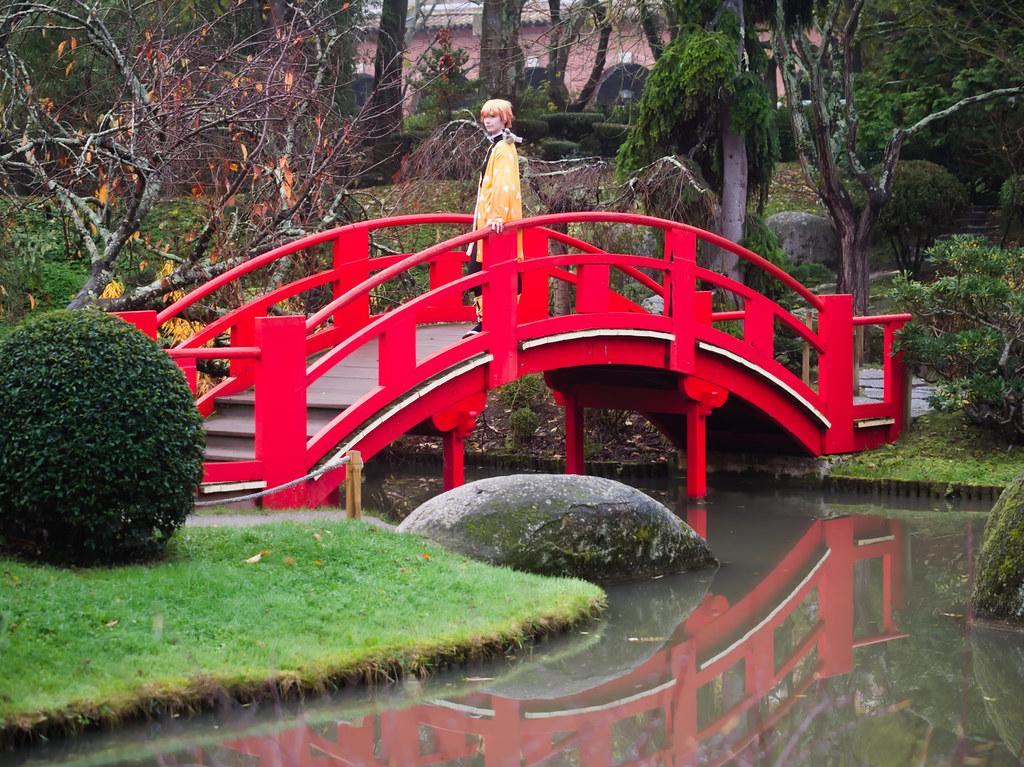 related image - Shooting Demon Slayer Kimetsu no yaiba - Zenitsu Agatsuma - Jardin Japonais - Toulouse -2019-12-01- P1955793