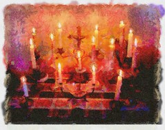 Candlelight DAP_Illustrator
