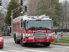Cambridge Fire Department Rescue 1 - Pierce