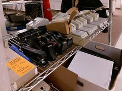 Selling off the last of the Jonesboro Sears office supply fixturing