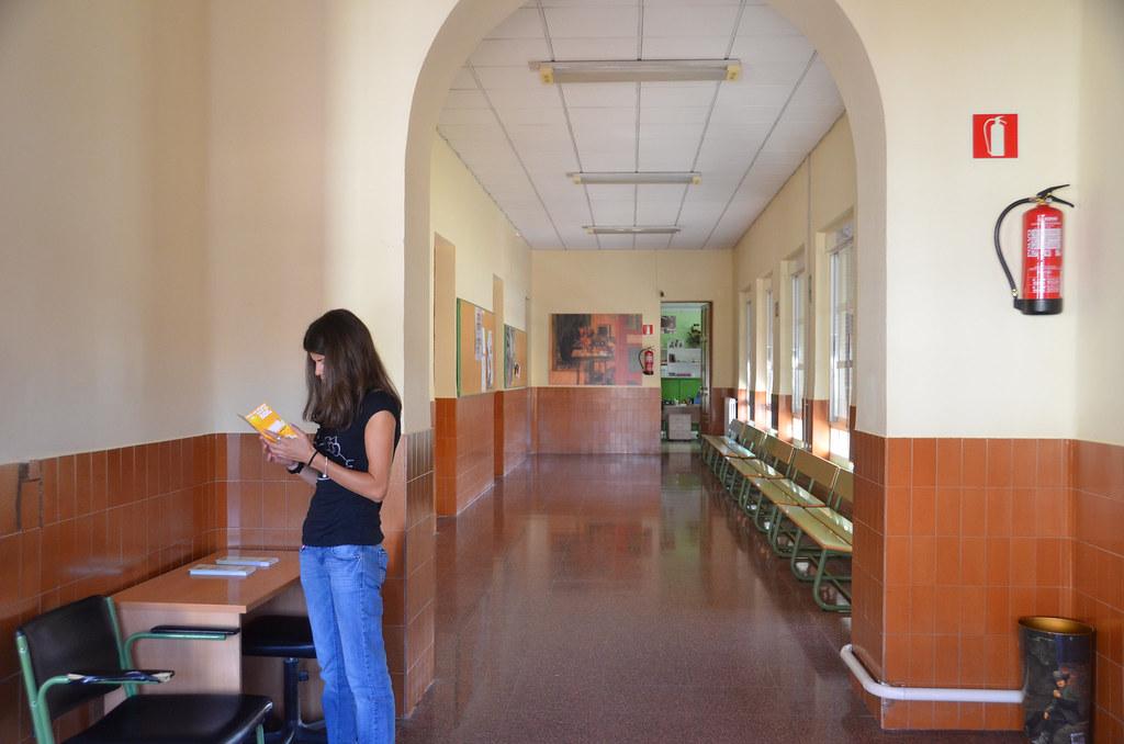 Interior del centro