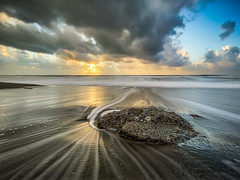 Italian sunset - Paola, Italy - Seascape photography