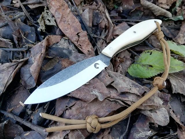 152. Canadian belt knife #24