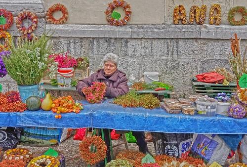 Ljubljana Flower Market 20191009_113105
