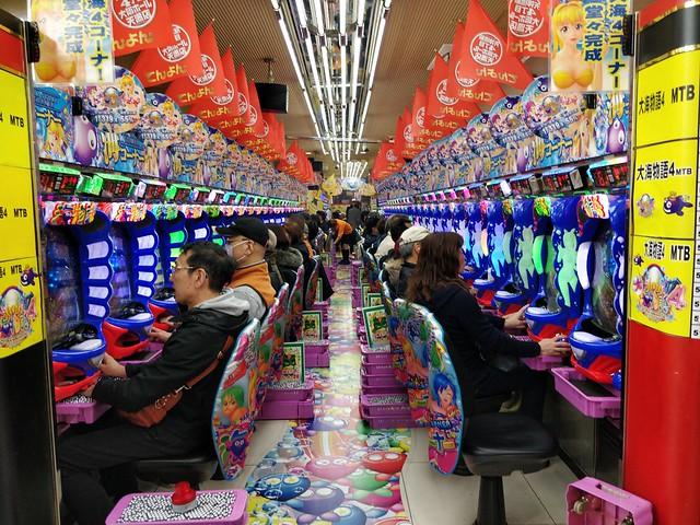 Photo:Pachinko parlour - 丹波屋,  Tenjinbashisuji shopping arcade By avlxyz