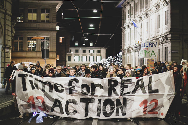 Cop-Demo Zürich
