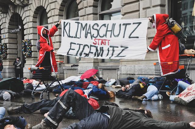 Die-In Zürich