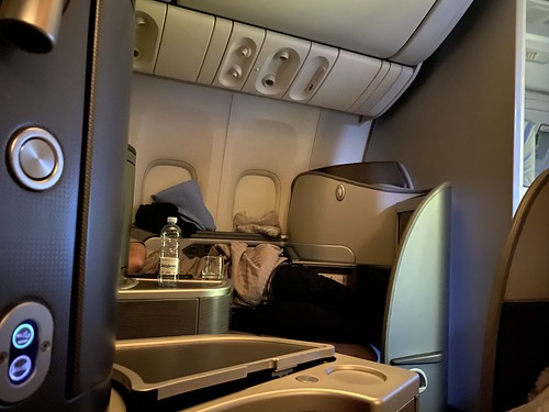 United 777 First  Class Seat