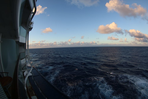 View from Stateroom 8335 - the Celebrity Equinox - February 2018
