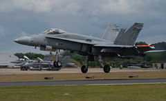 F-18 Landing
