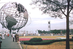 "World's Fair globe ""unisphere"""