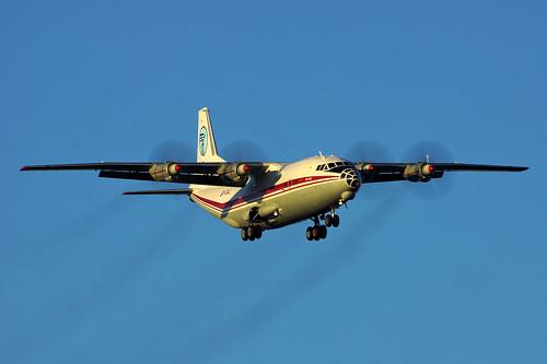 UR-CAJ (cn 8346106) Antonov An-12BK Meridian Airlines