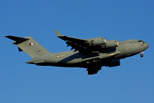 A7-MAA(cn F-208)Boeing C-17 Globemaster III C-17A Qatar Emiri Air Force