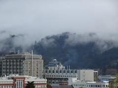 Hill in Low Cloud