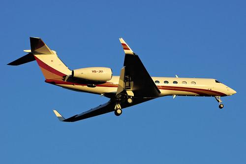 HB-JKI(cn 5355)Gulfstream Aerospace GV-SP (G550) Malaysian Jet Services S/B