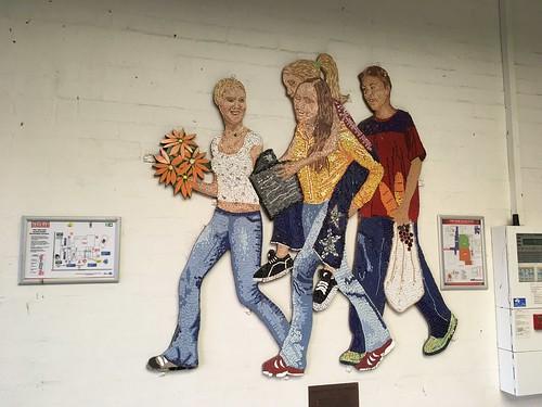 Mural at Australind Shops