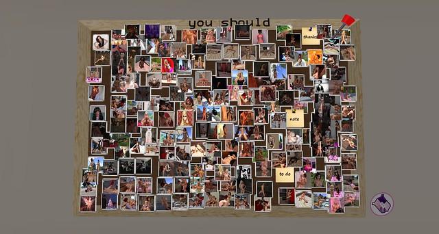 Last View of the Sorority Photo Board