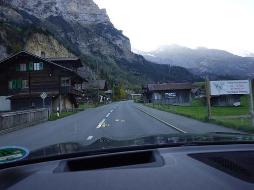 On the way to Zermatt