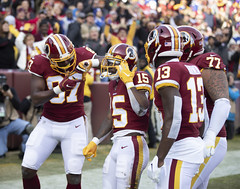 Sims and Friends Celebrate His TD
