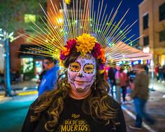 Woman at Dia De Los Muertos