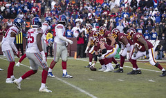 Offensive Line Pinned Against the Redskins Red Zone