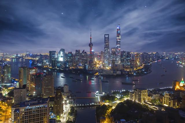 Night Cityscape of Shanghai