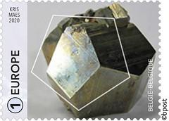 03 GÉOMÉTRIE - PENTAGONE timbre a©