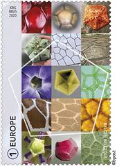 03 GÉOMÉTRIE - PENTAGONE timbre b©