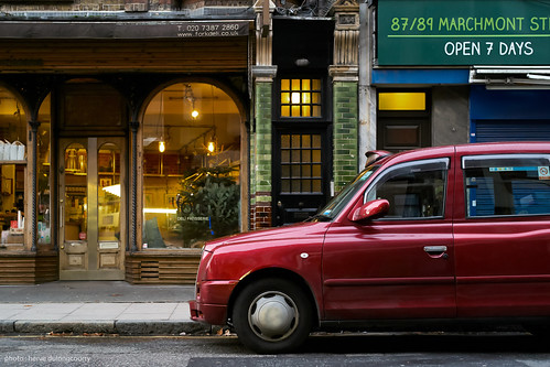 The Red Taxi