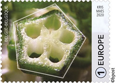 03 GÉOMÉTRIE - PENTAGONE timbre e©