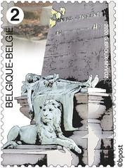 18 CIMETIÈRES REMARQUABLES timbre D Antwerpen©