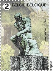 18 CIMETIÈRES REMARQUABLES timbre C Laeken©