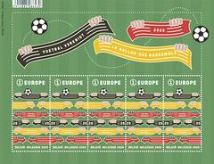 11 postzegel voetbal OK